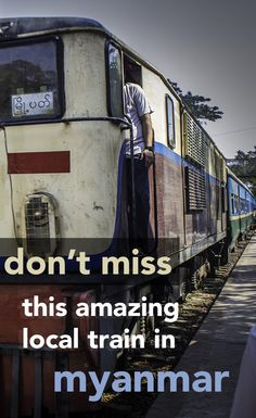 Had a wonderful experience with local folks on this train. Jump on the local Circle Line train through the city of Yangon in Myanmar to get up close with the locals - and everything they bring on board with them! Myanmar Travel, Burma Myanmar, Thailand Travel, Asia Travel, Solo Travel, Travel Tips, Laos, Yangon, Kuala Lumpur