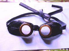 DIY Realistic Steampunk Airship goggles