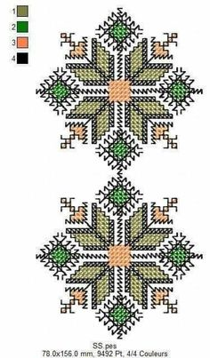 Blackwork Embroidery, Folk Embroidery, Hand Embroidery Stitches, Ribbon Embroidery, Cross Stitch Embroidery, 123 Cross Stitch, Cross Stitch Flowers, Cross Stitch Designs, Cross Stitch Patterns