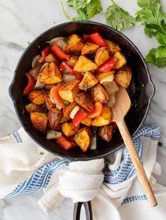 Breakfast Potatoes Recipe - Love and Lemons Breakfast Potatoes, For Love And Lemons, Best Breakfast, Vegan Breakfast Recipes, Side Dishes, Roast, Brunch, Potato Recipes, Overnight Oats