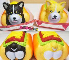 Yumeno Jumbo Hot Dog Squishy, Super Slow Rising!
