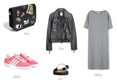 ROCK IN RIO-  W.LOOK by ireneconcello on Polyvore featuring MANGO, Zara and adidas