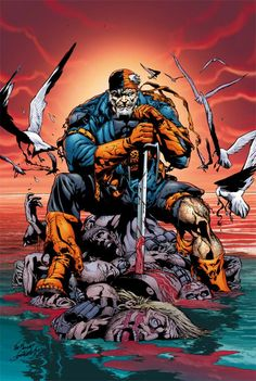 "Joe Bennett - Deathstroke in ""Flashpoint"""