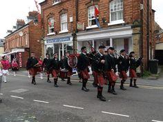 carnival band Ellesmere Shropshire