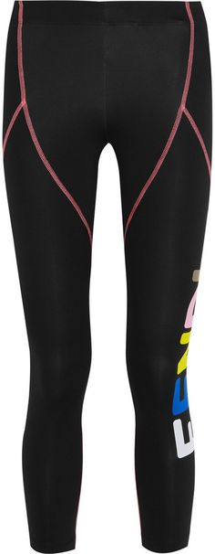 144f54750a Fendi Cropped Printed Stretch-Jersey Leggings. Mariesther Rodriguez ·  Activewear