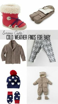 10 Snow Cute, Cold Weather Finds for Baby