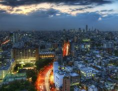 Tokyo Road by Stuck in Customs, via Flickr