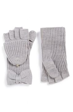 Kate Spade - Bow Convertible Mittens