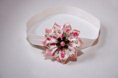 čelenka krémová se sponkou - květ s květy Stud Earrings, Band, Accessories, Jewelry, Sash, Jewlery, Jewerly, Stud Earring, Schmuck
