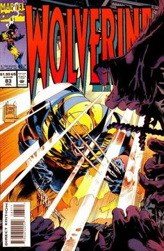 Wolverine Vol. 2 # 83 by Adam Kubert & Mark Farmer
