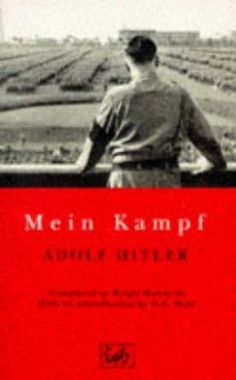 BANNED BOOK - SUPPRESSED ON POLITICAL GROUNDS - Mein Kampf by Adolf Hitler
