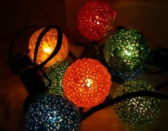 60s christmas frosted ice lights - Google Search