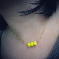 Luminaire necklace by jewelsdejuliet on Instagram and Facebook