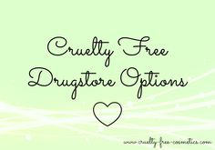 Being cruelty free doesn't have to be hard! Here's a list of cruelty free companies who have vegan options that you can find at drugstores or Target!