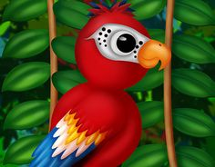 "Check out new work on my @Behance portfolio: ""Parrot digital painting"" http://be.net/gallery/52965331/Parrot-digital-painting"