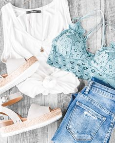 Outfit Chic, Casual Chic Outfits, Cute Summer Outfits, Spring Outfits, Trendy Outfits, Cool Outfits, Fashion Outfits, Casual Summer, Party Outfits