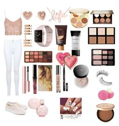 """""""Untitled #70"""" by evie-mowbray on Polyvore featuring Miss Selfridge, Topshop, Vans, Michael Kors, Repossi, Kobelli, tarte, Anastasia Beverly Hills, Smashbox and Too Faced Cosmetics"""