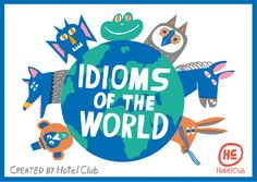 English    is    FUNtastic: Idioms of the world | infographic