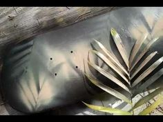 ▶ How to camp paint- for badlands use grey backing with tan over stencils (shrub) Boat Painting, Air Brush Painting, Stencil Painting, Spray Painting, Camo Spray Paint, How To Paint Camo, Duck Hunting Boat, Duck Boat, Jon Boat