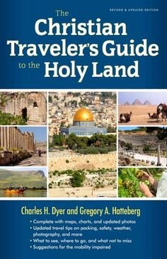 Knowing the Land helps us understand the Book in new and vivid ways. Charles Dyer, a Bible scholar and veteran Holy Land tour guide, and Greg Hatteberg, graduate of the Institute of Holy Land Studies