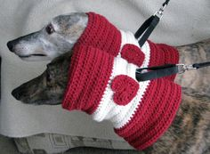 Loving Hounds Snood for Northern Sky Greyhound by GreytFunFashions, $20.00