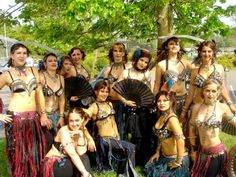 Ultra Gypsy at Tribal Fest 2006 I think, with Jill Parker