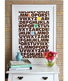 LOVE;  10 Fun Letter Prints for Kids' Rooms - A to Z - mom.me
