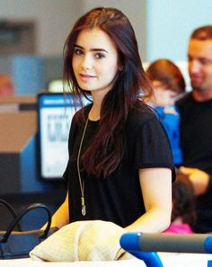 Lily Collins pretty with or without makeup
