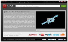 qtube.de - YouTube Downloader und MP3 Konverter - http://www.qtube.de