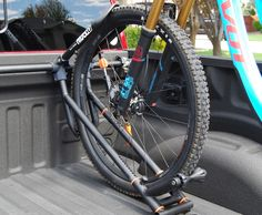 Jeremy Lathrop is raising funds for - The Ultimate Bike Rack for Trucks on Kickstarter! The Bike Rack is a perfect solution for bike riders who own trucks. There is no other truck bed rack like it on the market. Pvc Bike Racks, Truck Bed Bike Rack, Diy Bike Rack, Hitch Bike Rack, Bike Holder, Bicycle Rack, Bike Racks For Trucks, Pick Up, Bike Stand Diy