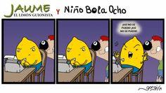 Betún de Judea - Webcomic o algo así: JAUME, el limón guionista 7