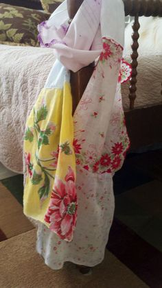 """Hanky Scarf inspiration from """"I'm sew in Love"""" blog"""