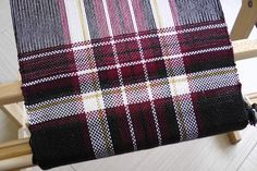 Weaving, knitting, crocheting...: KnitPicks scarf. First year with Schacht Flip rigid heddle loom 8/9