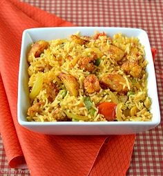 Baked Potato Cauliflower Masala Rice