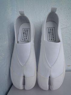 Maison Martin Margiela White Tabi Slippers