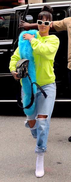 Rihanna ∞ — May 1: Rihanna out in New York.