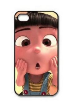 Despicable Me Minions Agnes Iphone 4 4S case