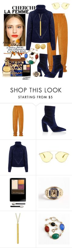 """""""Summer's wave goodbye"""" by daincyng ❤ liked on Polyvore featuring Hillier Bartley, Prada, Tanya Taylor, Christian Dior, Maybelline, 1928 and unexpectedtrends"""