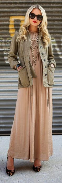 Soft Joie Blush Loose Soft Jersey Maxi Dress by Atlantic - Pacific- ~LadyLuxury ~
