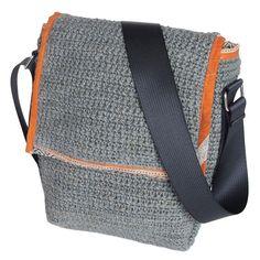 shoulder bag jute crochet_recycling