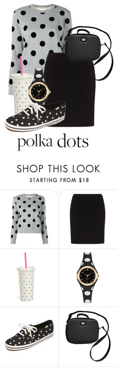 """Polka-party!"" by miniemily ❤ liked on Polyvore featuring Doris Streich, Kate Spade and Dolce&Gabbana"