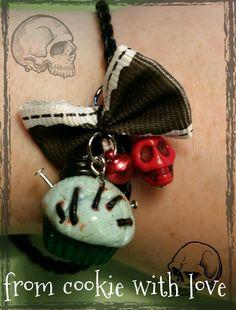 Frankencupcake bracelet