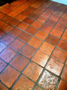 I was contacted by a client living in Ipswich, the county town of Suffolk, who had a dirty Pamment tiled floor that needed some attention. The sealer . Aquaguard Flooring, Bedroom Flooring, Transition Flooring, Playground Flooring, Casa Loft, Tile Art, Tiles, Mexican Home Decor, Armstrong Flooring