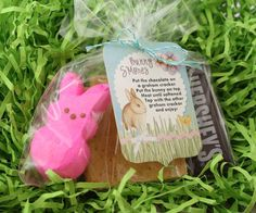 Oooey Gooey Bunny S'mores with tag made in StoryBook Creator 4.0. These were a hit at my Hoppin' Crop!