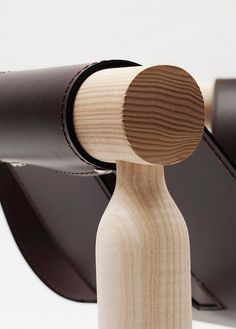 Armchair with leather seat NINNA | Armchair - @adentro0063