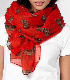 I love scarfs.