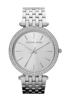 Michael Kors MK3190 Darcy Silver Tone Stainless Steel Bracelet Women's Watch   eBay
