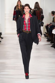 Pin for Later: The 10 Trends You Should Wear This Autumn Pinstripes Ralph Lauren
