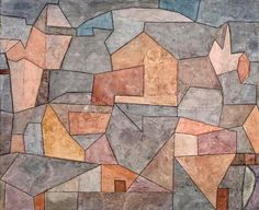 Paul Klee • Village Among Rocks (Ort in Felsen), 1932