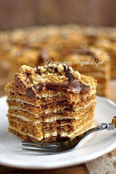 Polish Desserts, Polish Recipes, No Bake Desserts, Baking Recipes, Cake Recipes, Dessert Recipes, Sweets Cake, Cupcake Cakes, Russian Desserts